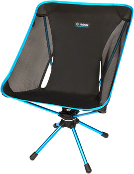 Helinox Swivel Camp Chair: Black/Blue
