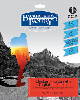 Backpacker's Pantry Chicken Picatta: 2 Servings