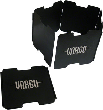 Vargo Aluminum Windscreen: Black