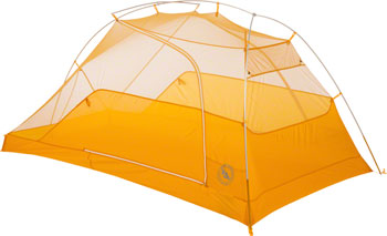 Big Agnes, Inc. TigerWall UL2 Shelter: Gray/Gold, 2-person