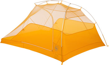 Big Agnes, Inc. TigerWall UL3 Shelter: Gray/Gold, 3-person