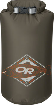 Outdoor Research Graphic Dry Sack: King Topo/Fatigue, 20L