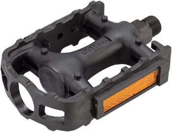 Wellgo LU-895 Pedals - Platform, Plastic, 1/2