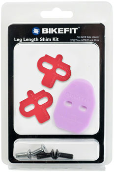 Bike Fit Leg Length Shims: MTB, 2-Hole