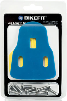Bike Fit Leg Length Shims: Road, 3-Hole SL/Delta/Time
