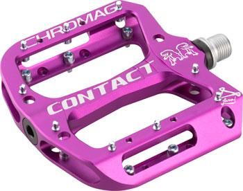 Chromag Contact Pedals - Platform, Aluminum, 9/16