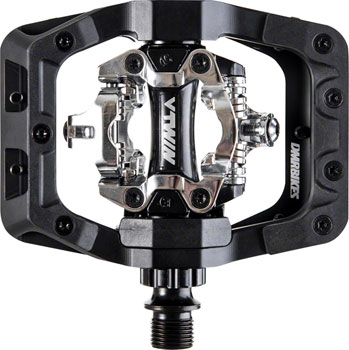 DMR V-Twin Pedals - Dual Sided Clipless with Platform, Aluminum, 9/16