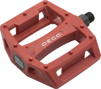 Deco PC Pedals Red