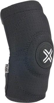 Fuse Protection Alpha Knee Sleeve Pad: Black LG, Pair