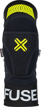 Fuse Protection Omega Knee Pad: Black/Neon Yellow, MD/LG, Pair