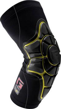 G-Form Pro-X Elbow Pad: Black/Yellow MD