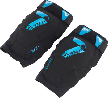 7iDP Flex Men's Knee Pad: Black LG