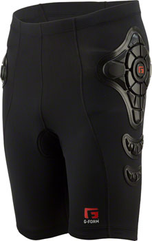 G-Form Pro-B Compression Shorts: Black, LG