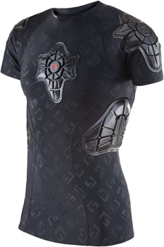 G-Form Pro-X Short Sleeve Shirt: Black/Embossed G, MD