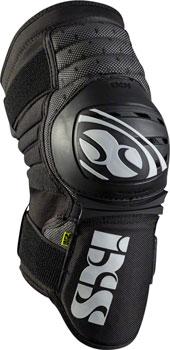 iXS Dagger Knee Guard: Black, SM