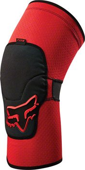 Fox Racing Launch Enduro Knee Guard: Red LG