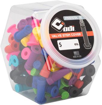 ODI Presta Valve Stem Caps Candy Jar
