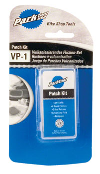 Park Tool Vulcanizing Patch Kit: Carded and Sold as Each