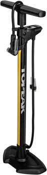 Topeak JoeBlow Pro Digital Floor Pump - 200psi / 13.8bar Digital Gauge, SmartHead DX3, Air Release Button, Black/Yellow