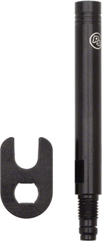 Problem Solvers Presta Valve Extender: Removable Core 30mm Black