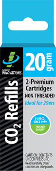 Genuine Innovations 20g Threadless Co2 Cartridges:  2-Pack