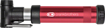 Crank Brothers Gem S Short Frame Pump: Red