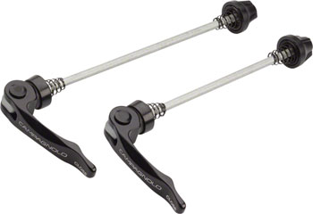Campagnolo Type 40 Quick Release Skewer Set for Vento, Khamsin and Khamsin CX Wheels, Black