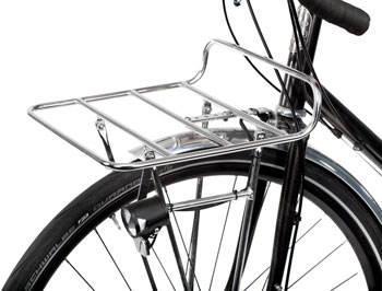 Nitto M18 Front Rack Mount Bicycle Rack Silver
