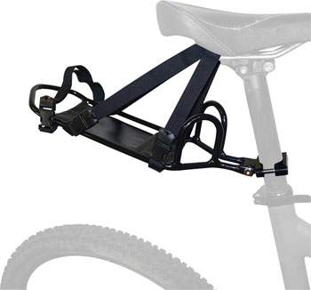 PDW Bindle Seatpost Rack: Black