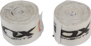 BOX Components Radian Rim Tape, 24mm, Set of 2, White