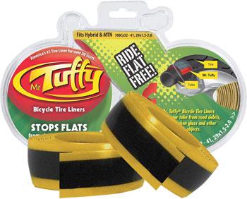 Mr. Tuffy Tire Liner: 700x32 - 41, 29x1.5 - 2.0 Gold