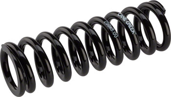 "Cane Creek Double Barrel Coil Rear Shock Spring, 3"" x 250 lbs. Steel Black"