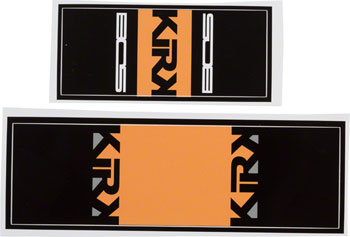 Bos Suspension Kirk Rear Shock Decal Kit Marin 09