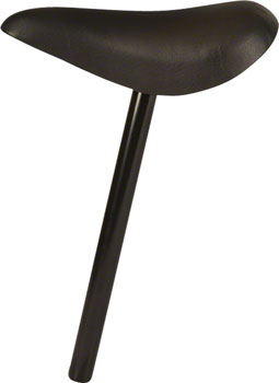 Strider 22.2 Balance Bike Saddle: 305mm Post, Black