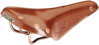 Brooks B17 Special Saddle - Steel, Honey