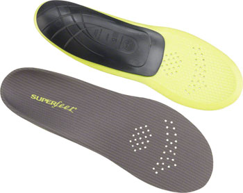 Superfeet Carbon Foot Bed Insole: Size F (Men 11.5-13)