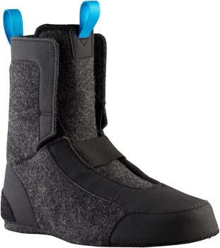 45NRTH Wolfgar Wool Replacement Liner Boot: Black Size 38