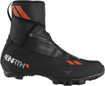 45NRTH Japanther MTN 2-Bolt Cycling Shoe: Black Size 36