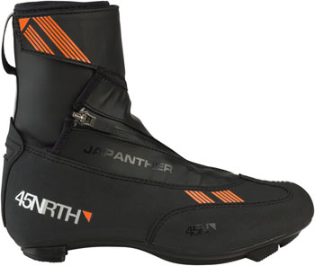 45NRTH Japanther ROAD 3-Bolt Cycling Shoe: Black Size 36