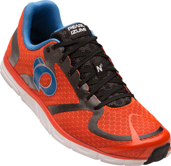 Pearl Izumi E:Motion Road N 0 v2 Men's Running Shoe: Red Orange/White 8.5