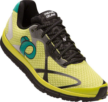 Pearl Izumi E:Motion Road N 2 v3 Men's Running Shoe: Lime Punch/Black 11
