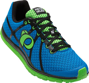 Pearl Izumi E:Motion Road N1 v2 Men's Run Shoe: Fountain Blue/Screaming Green 10.5