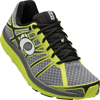 Pearl Izumi E:Motion Road M3 v2 Men's Run Shoe: Smoked Pearl/Lime Punch 10.5