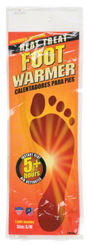 Grabber Foot Warmer Insoles: SM/MD, Pair