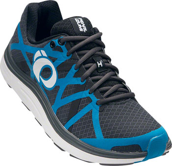 Pearl Izumi E:Motion Road H3 v2 Men's Run Shoe: Shadow Gray/Blue Methyl 11.5