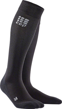 CEP Recovery+ Merino Women's Compression Socks: Black II