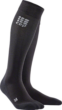 CEP Recovery+ Merino Men's Compression Socks: Black III