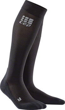 CEP Recovery+ Men's Compression Socks: Black IV
