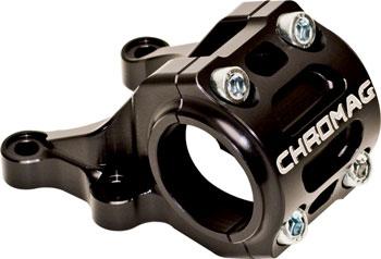Chromag Director Stem: 47mm, 31.8mm, Direct Mount, Black