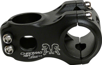 Chromag HiFi V2 Stem - 40mm, 31.8mm, 0 Degree, Alloy, Black